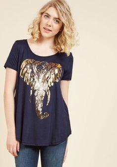 #AdoreWe #ModCloth ModCloth Tusk 'til Dawn T-Shirt - AdoreWe.com