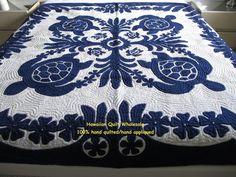 Hawaiian Quilt Wholesale- honu bedspread