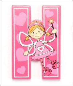 letras de hadas para imprimir, unas preciosas letras para sorprender a las niñas cque les apasiona el mundo de las hadas, sorprendela hacie...