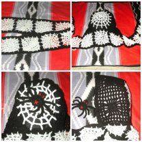 Spider Web Scoodie