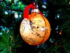 the hobbit christmas ornament book lover