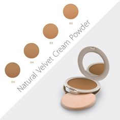 Looking for a perfect coverage, long lasting results and a velvet touch? Just try the Natural Velvet Cream Powder! Velvet Cream, Art Of Beauty, Beauty Trends, Powder, Eyeshadow, Touch, Cosmetics, Natural, Makeup