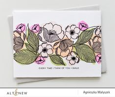You will love this technique as it's a great way to stretch the versatility of any stamp set! Learn more from our blog. Blog: http://altenewblog.com/2016/11/24/stamp-focus-adore/ Website: https://altenew.com/