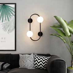 This magic beans led wall lamp is simple and stylish, you can install it in your bedroom and living room to have a decoration. Contemporary Wall Lights, Modern Wall Lights, Led Wall Lights, Ceiling Lights, Sconce Lighting, Bedroom Lighting, Led Wall Lamp, Made To Measure Curtains, Sconces