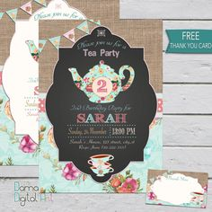 Hey, I found this really awesome Etsy listing at https://www.etsy.com/listing/258609918/tea-party-invitation-tea-party-birthday