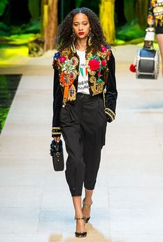 Миланская неделя моды: Dolce & Gabbana, весна-лето 2017, Buro 24/7