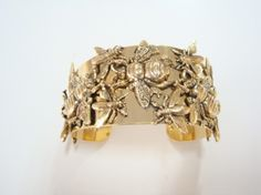 Yochi Insect Cuff. made in USA and yay bees!
