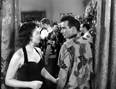 Donna Reed and Montgomery Clift in From Here to Eternity (1953).