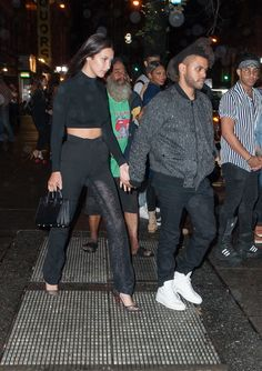 "Abel Tesfaye ""The Weeknd"" and Bella Hadid"