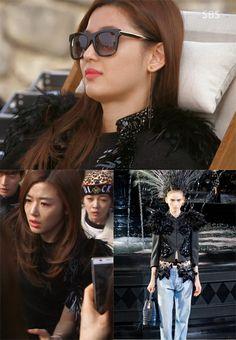 Jun Ji Hyun's Fashion Style – You Who Came From the Star Episode 21 Luna Fashion, Star Fashion, Jun Ji Hyun Fashion, My Love From Another Star, Korean Shows, Cute Korean Girl, Inspirational Celebrities, Korea Fashion, Classy And Fabulous