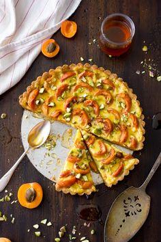 ... tart with honey and pistachios more apricot pistachios apricot crème