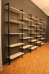 A Black and White Wall Unit by Pilastro Holland 1950's thumbnail 5