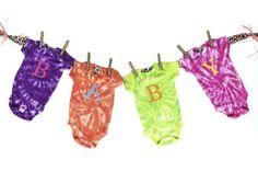 Baby Kim: Tie-Dye Creepers Banner