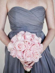 Pink and Grey Wedding   http://wonderful-wedding-inspiration.blogspot.com