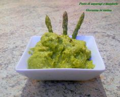 Pesto di asparagi e mandorle