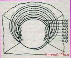 Дамская сумка из ткани твид, фото выкройки и схемы шитья 68