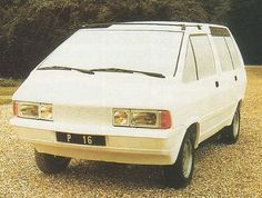 It used to be the next gen Talbot Rancho. OG | 1984 Renault Espace - Matra P16 | Mock-up, initially designed by Fergus Pollock then Antoine Volanis dated 1979