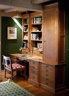 Custom Fly Tying Desk #sportinglife #flyfishing #custom #desk #customwoodwork   Dorset Custom Furniture - A Woodworkers Photo Journal: Libraries We Have Built Over The Years