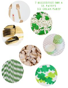 7 Necessities For A St. Patty's Ice Cream Party