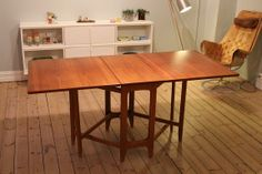 Norsk design - Bendt Winge klaffebord -