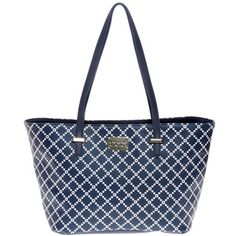 Kenneth Cole Reaction 'Duplicator' Pixie Print Tote - Overstock™ Shopping - Great Deals on Kenneth Cole Reaction Tote Bags