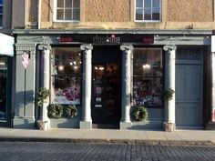 Louise Stewart's shop, Cloud Nine in Kelso, in the Scottish Borders sells a  floral, French, with a hint of rustic country; painted furniture, gifts and accessories.