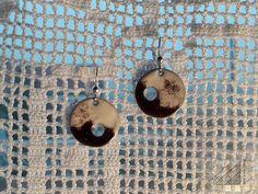 handmade jewel: angles & curves collection, earrings, sterling silver, enamel / χειροποίητο κόσμημα: σκουλαρίκια, ασήμι, σμάλτο Washer Necklace, Pendant Necklace, Handmade Silver, Angles, Curves, Jewels, Crafts, Collection, Manualidades