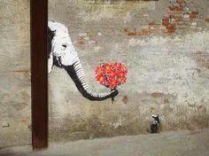 <3 Street art! Follow us for more posts like this! <3 agoraphobix Www.agoraphobix.com
