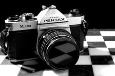 Pentax K1000, my first 35 mm and the one that took me through NE School of Photography.