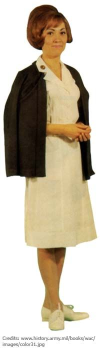 Nursing Uniforms of the Past and Present -- Standard uniform 1962-1975