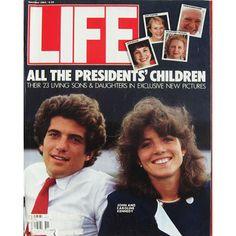 Life Magazine November 1984 All the Presidents' Children John and Caroline Kennedy Les Kennedy, John Kennedy Jr, Caroline Kennedy, Jfk Jr, Life Magazine, History Magazine, Ohana, Familia Kennedy, John Junior