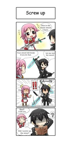 Sword Art Online funnies
