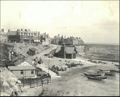 Cullercoats - 1890 Antique Photos, Old Photos, Durham City, Berwick Upon Tweed, North Shields, North East England, Fishing Villages, Local History, Historical Pictures