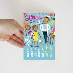"Set of 12 postcards ""Funny monkey"" on Behance #postcrossing #post #card #postcard #monkey #newyear #открытка #посткроссинг #обезьяна #sea #july #summer #ship #seagull #captain #лето #июль #море #чайка #капитан #корабль"