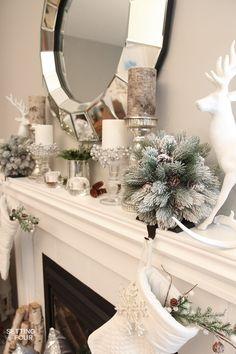 HOLIDAY Christmas On Pinterest Christmas Home Christmas Mantels