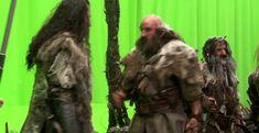 On set - The Hobbit