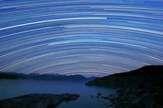 Star Reserve  Photograph by Alex Cherney, TWAN    Star trails streak over Lake Tekapo in New Zealand in a newly released long-exposure picture.    The lake was one of the first sites designated as a Starlight Reserve as part of a UN-supported initiative to preserve the quality of the night sky and its cultural, scientific, or natural values.