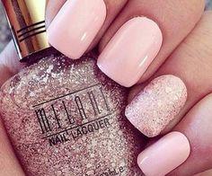 Hot pink Nails.