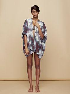 Upstate silk kimono