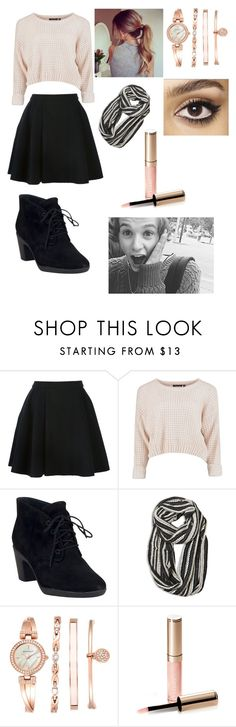 """Date with Brad Simpson."" by nicole22 ❤ liked on Polyvore featuring Avelon, Clarks, Avenue, Anne Klein, By Terry and Charlotte Tilbury"