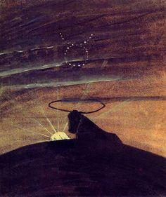 Mikalojus Konstantinas Čiurlionis-The Sun is Passing. (1906-07)