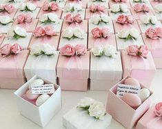 LUXURY WEDDING FAVOURS, Favour boxes, bridal shower boxes, Christening favours, baby shower favours, Sugared Almonds favours
