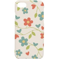 Flower iphone case | Case for iphone7 with nice floral design.