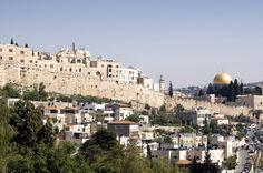 Un panorama dalla Palestina
