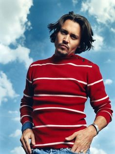 Johnny Depp by Nigel Parry Young Johnny Depp, Johnny Depp Movies, Jony Depp, Junger Johnny Depp, Bad Boy Records, Captain Jack Sparrow, Celebs, Celebrities, Role Models