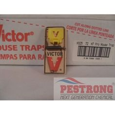 Victor Mouse Traps M325 - 12 Snap Traps, Victor Mouse Traps M325 - 12 Snap Traps provides instant rodent control and is safe for household and commercial use.