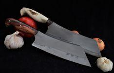 Custon handmade Peremský knife Butcher Knife, Kitchen Knives, Sword, Ocean City, Knifes, Weapons, Hobbies, Handmade, Tools