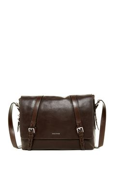 This pebble leather messenger bag by Cole Haan makes for the perfect Father's Day gift!