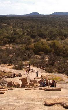 Enchanted Rock. 15 miles North of Fredericksburg, Texas.
