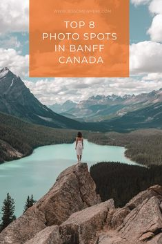 Top 8 Photo Spots in Banff Canada Planning a trip to the Canadian Rockies? Here are 8 spots you can't miss for memorable photos. Banff Canada, Alberta Canada, Canada Ontario, Cool Places To Visit, Places To Travel, Places To Go, Canadian Travel, Canadian Rockies, Banff National Park